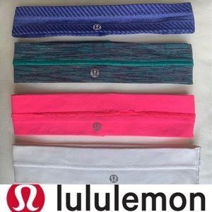 lululemon athletica Accessories - 4 Lululemon vintage wide headbands